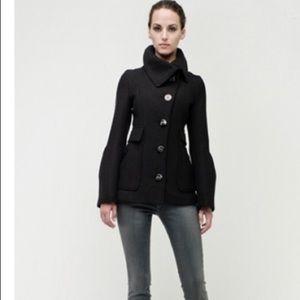 Mackage wool asymmetric peacoat. Size XS